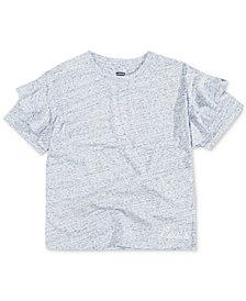 Levi's® Big Girls Ruffle-Trim Cotton T-Shirt