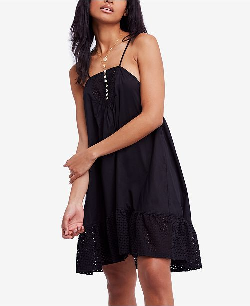 242ab7b72495 Free People Calico Cotton Trapeze Dress & Reviews - Dresses ...