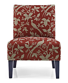 Monaco Accent Chair Bardot Crimson