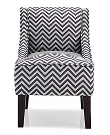 Phoenix Accent Chair, Ziggi Grey
