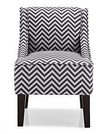 Phoenix Accent Chair, Ziggi Grey
