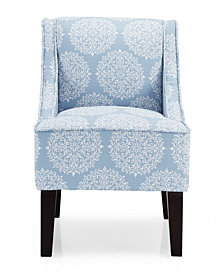 Marlow Accent Chair Gabrielle Sky