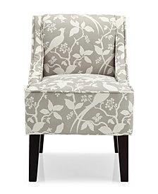 Marlow Accent Chair, Bardot Platinum