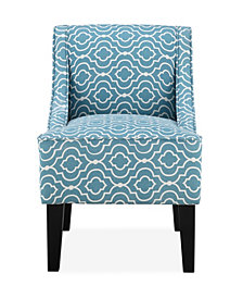 Prescott Accent Chair, Deco Sea