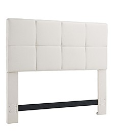 Grid Headboard, Full/Queen, Bone