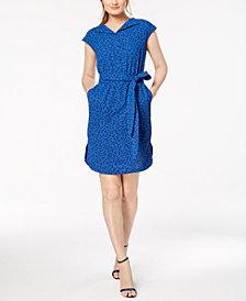 Anne Klein Belted Shirt Dress
