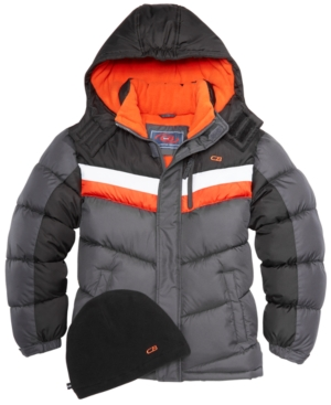 Cb Sports Hooded Colorblocked...