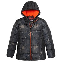 Deals on 2 RM 1958 Big Boys Kyle Colorblocked Printed Hooded Jacket