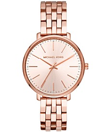 Women's Pyper Rose Gold-Tone Stainless Steel Bracelet Watch 38mm