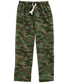 Carter's Big Boys Camo-Print Pajama Pants
