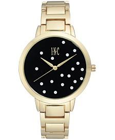 I.N.C. Women's Gold-Tone Bracelet Watch 36mm, Created for Macy's