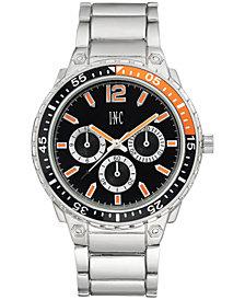 I.N.C. Men's Silver-Tone Bracelet Watch 45.5mm, Created for Macy's