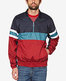 Original Penguin Men's Colorblocked Quarter-Zip Jacket