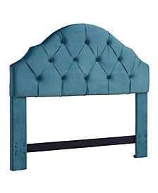 Fairmont Headboard, Full/Queen, Ice Blue