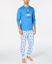Matching Family Pajamas Men's Love You A Latke Pajama Set, Created for Macy's
