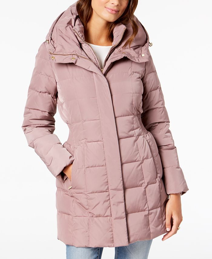 Cole Haan - Hooded Down Puffer Coat