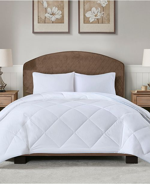 JLA Home Sleep Philosophy Cooling and Warm Full/Queen Reversible Down Alternative Comforter
