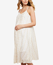 Jessica Simpson Maternity Printed Shift Dress