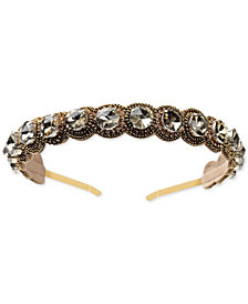 Deepa Gold-Tone Crystal Headband