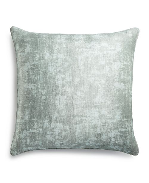 Hotel Collection CLOSEOUT! Fresco Sage European Sham, Created for Macy's