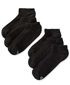 Hanes Men's 6-Pk. X-Temp No-Show Socks