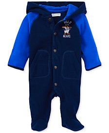 Ralph Lauren Baby Boys Fleece Bunting