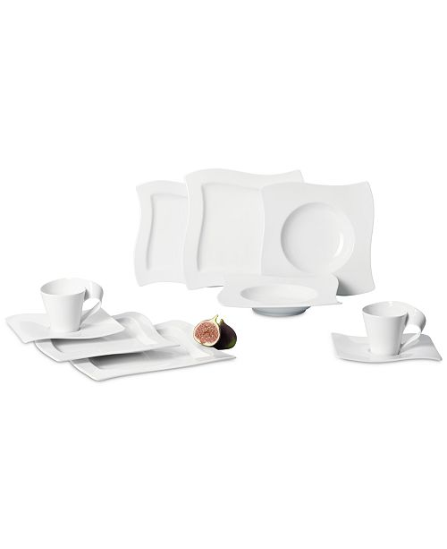 Villeroy & Boch New Wave 30-Pc. Dinnerware Set, Service for  6