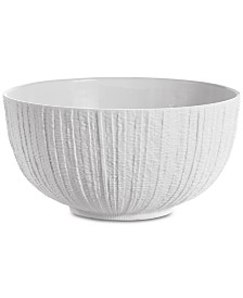 Michael Aram Gotham White Serving Bowl