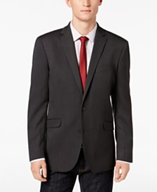 Kenneth Cole Reaction Men's Slim-Fit Black & Charcoal Tic Sport Coat, Online Only