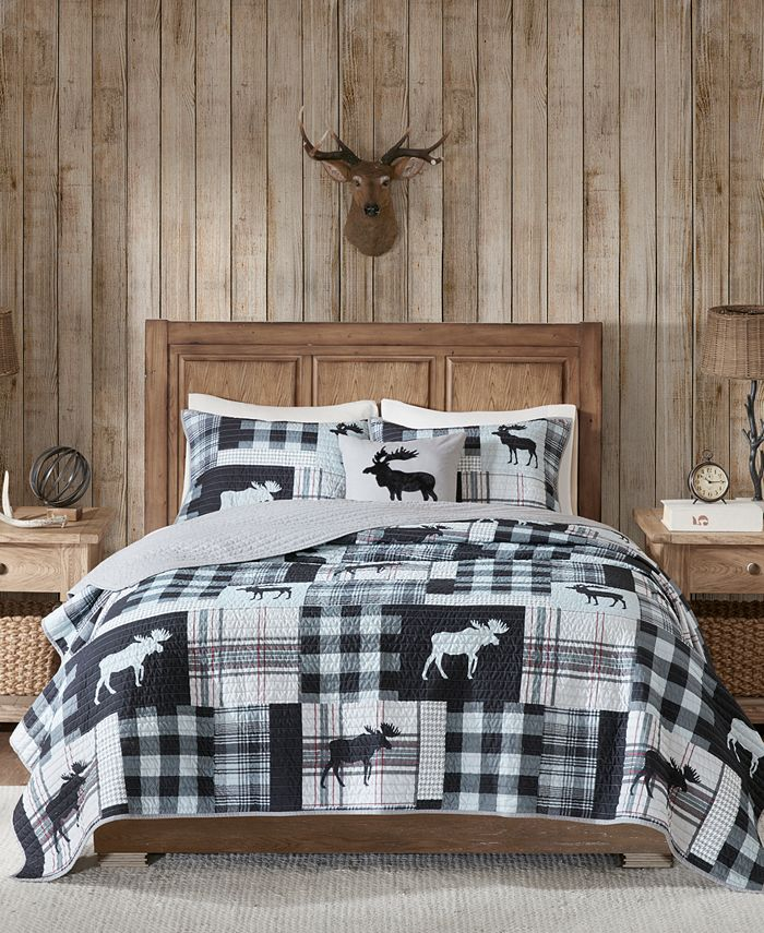 Woolrich - Sweetwater Reversible 4-Pc. Oversized King/California King Quilt Set