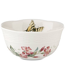 Lenox Butterfly Meadow Basket Candy Bowl