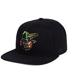 '47 Brand Baltimore Orioles Camfill Neon Snapback Cap