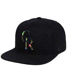 '47 Brand Colorado Rockies Camfill Neon Snapback Cap