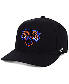 '47 Brand New York Knicks After Glow Strapback Cap