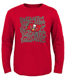 Outerstuff Tampa Bay Buccaneers Graph Repeat T-Shirt, Toddler Boys (2T-4T)