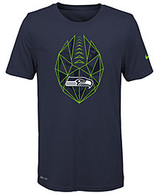 Nike Seattle Seahawks Football Icon T-Shirt, Big Boys (8-20)