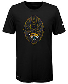 Nike Jacksonville Jaguars Football Icon T-Shirt, Big Boys (8-20)