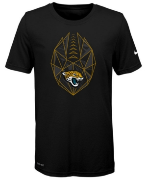 image of Nike Jacksonville Jaguars Football Icon T-Shirt, Big Boys (8-20)