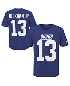 Nike Odell Beckham Jr. New York Giants Pride Name & Number 3.0 T-Shirt, Big Boys (8-20)