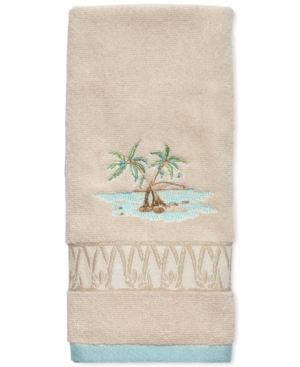 Lenox British Colonial Cotton Terry Embroidered Hand Towel Bedding
