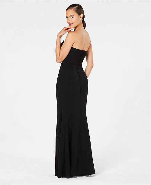 Strapless Mermaid Teeze Juniors' Gown Black Me R4qpv