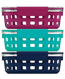 Meal Prep Food Storage Container Starter Pack, 6-Pc. Set
