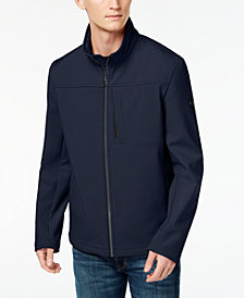 Calvin Klein Men's Big & Tall Classic-Fit 4-Way Stretch Soft-Shell Jacket