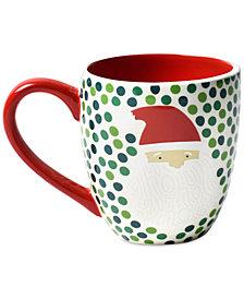 Coton Colors Ho Ho Santa  Mug