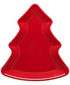 Fiesta Scarlet Tree Plate