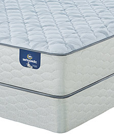 "Serta Sertapedic 12.25"" Cassaway Firm Mattress Set- Queen"