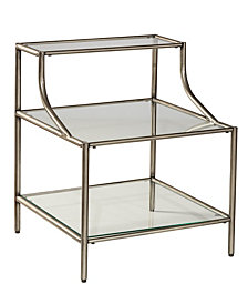 Hillsdale Furniture's Corbin Side Table with Three Shelves