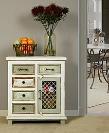 LaRose Five Drawer Accent Cabinet