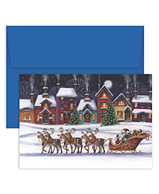 Masterpiece Studios Santa & Sleigh Boxed Cards