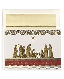 Masterpiece Studios Manger Scene Boxed Cards